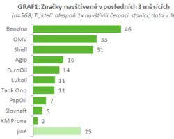Typologie návštěvníků čerpacích stanic v ČR